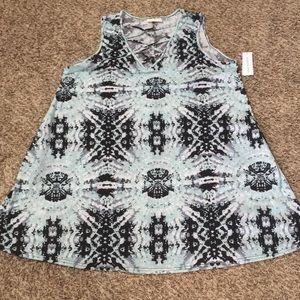 NWT. Women's dress with pockets. Size 2X.